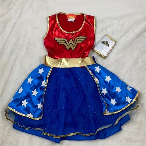 Wonder Woman Girl's Costume, Size
